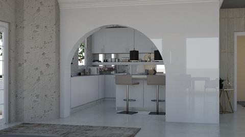 Kitchen View - Modern - Kitchen  - by i l o n a
