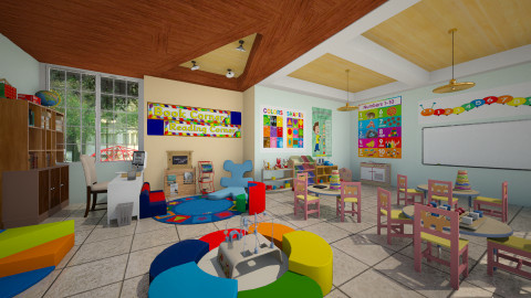 Kindergaten - Kids room  - by Pilita Jabers