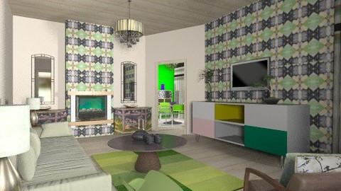 Scenes - Eclectic - Living room  - by mrschicken