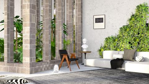 Indoor Jungle - Living room - by millerfam