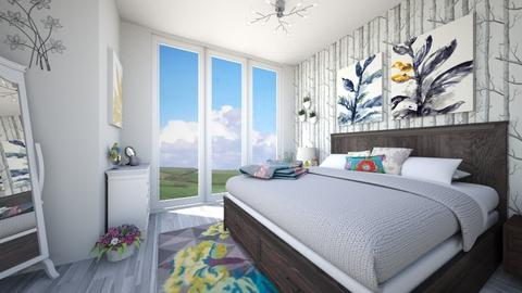 Wild Flower - Bedroom  - by Kirstin Reay