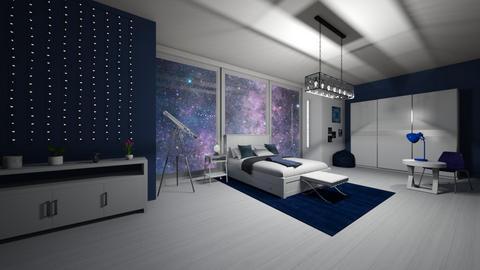 night sky - by michaelambrose1