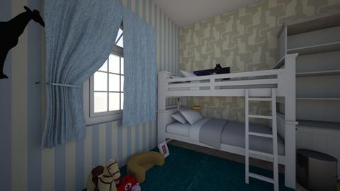 Petra i Emanuela  - Kids room - by pticurina