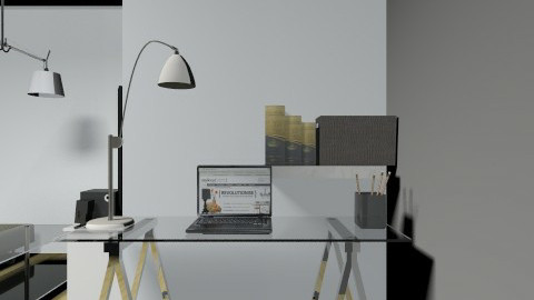 Study corner4e - Classic - Office  - by vanesags