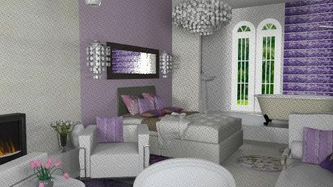 retreat1 - Eclectic - Bedroom  - by calu13