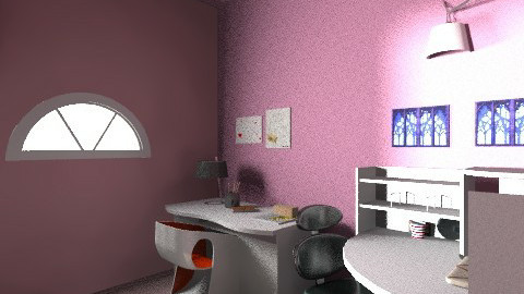 Pink Invasion - Feminine - Bedroom - by wildvlvt