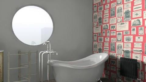 bathroom  - Vintage - Bathroom  - by oliviarose