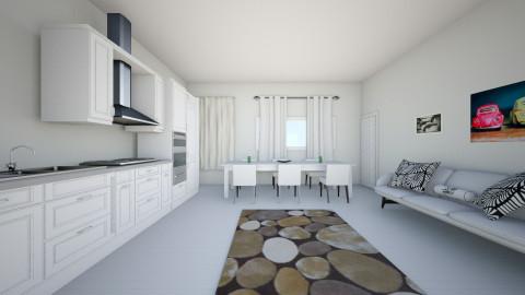 Living cu bucatare ap1 - Classic - Kitchen  - by alexascj