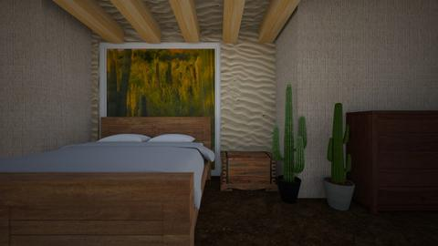 cactus - Bedroom  - by hannahelise