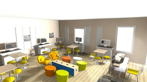 Kim - Eclectic - Office  - by Kim McKinstry