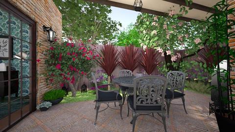 patio - Garden  - by Evelyn1981
