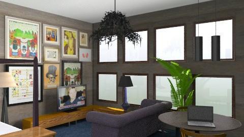 studio - Vintage - Living room  - by whateffer