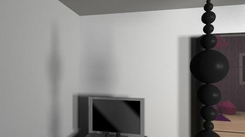 my bedroom design - Vintage - Bedroom  - by themaneisziggy