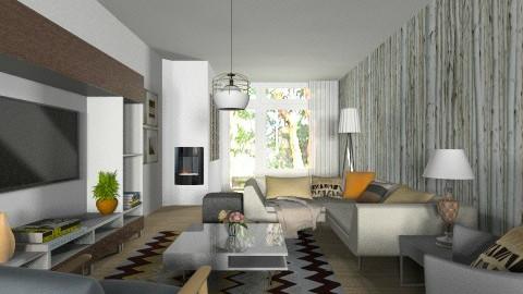 Woonkamer For Gert Jan - Modern - Living room  - by janip