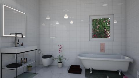 Clean Bathroom - Classic - Bathroom  - by TreeFun