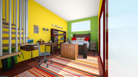 elegante - Bedroom - by AdriennSamu