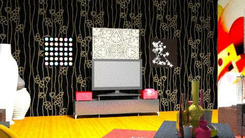magnifique - Glamour - Living room  - by Elenalikoudis
