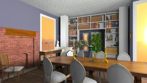 Sunroom Living space - Vintage - Living room  - by christina24