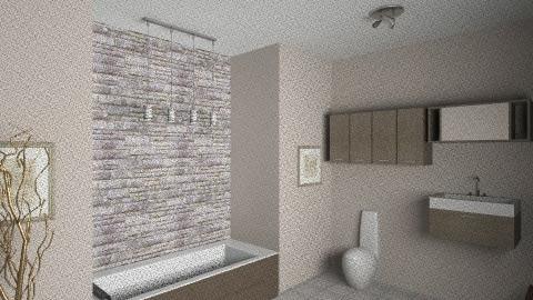 Terra Bathroom - Modern - Bathroom - by Liizbeth