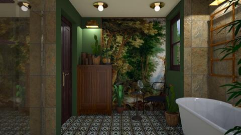 Classic cosy bathroom 0 - Classic - Bathroom  - by macus