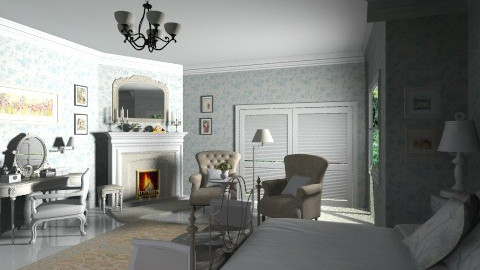 french style bedroom - Classic - Bedroom  - by XValidze