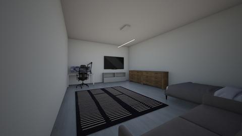 Design folio 3 - Bedroom  - by nathelliwell