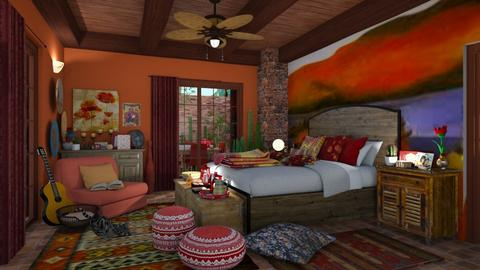 Hacienda - Bedroom - by AlexDi