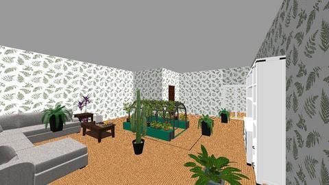 long house - Living room  - by karstunkirtley