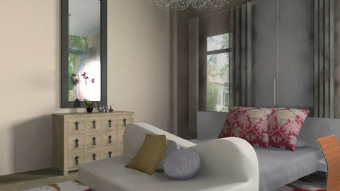Apartment bedroom - Eclectic - Bedroom - by natural11