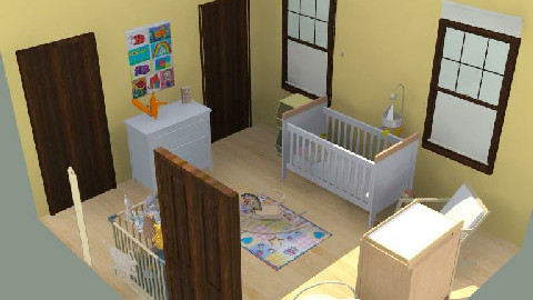 Farm House Nursery - Country - Kids room  - by jodiangel