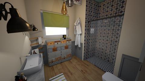 fuctbath II - Bathroom  - by bettamarchegiano