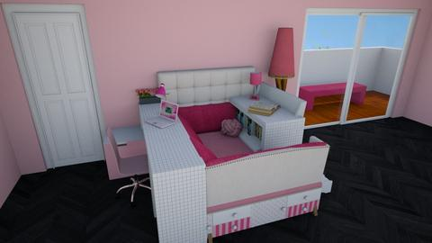 Book Nook and Bed in One - Feminine - Kids room  - by mydreamjob25
