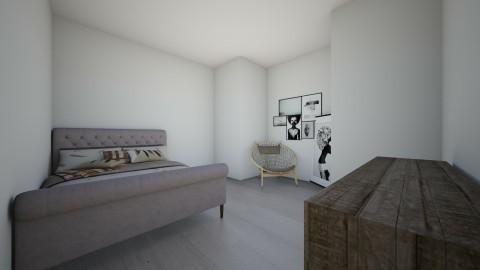 bedroom yo - Rustic - Bedroom - by maddieyoooo