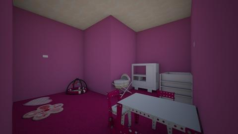 TOO PINK - Kids room  - by Kyla187
