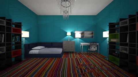 cozy bedroom - Bedroom  - by mega dragon