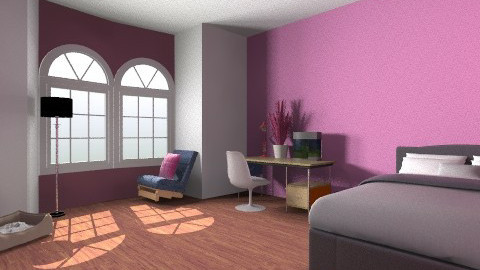 tinederskasoba - Retro - Bedroom  - by Brigita_031