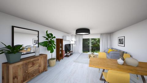augustowka - Living room  - by kalinagolebiowskakalina