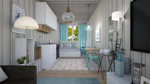 M_Container home - Bedroom  - by milyca8