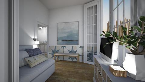 Casa306LivingArea - Vintage - Living room  - by nickynunes