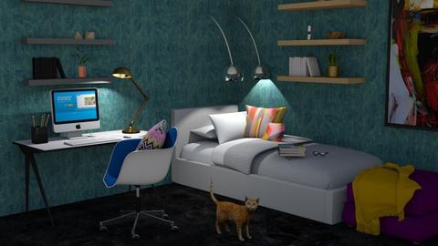 eLearing - Modern - Bedroom - by designcat31
