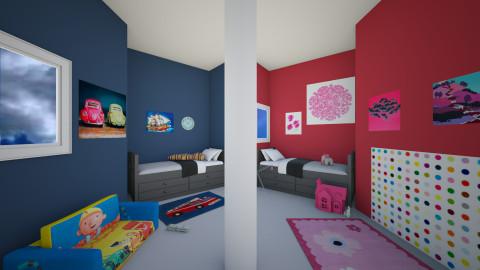 6 - Bedroom  - by abigailredon