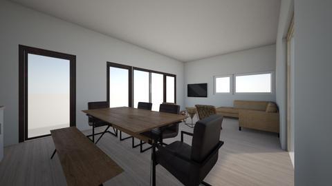 Full room 3 - Living room  - by gleidy