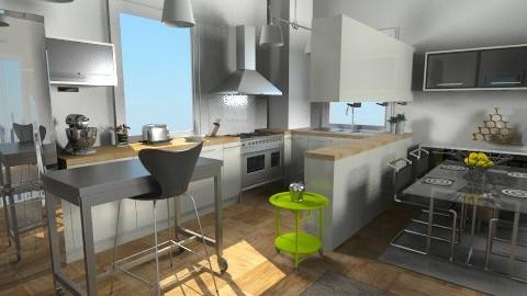 Modern Kitchen - Modern - Kitchen  - by lauren_murphy