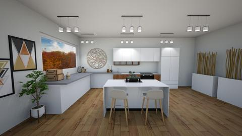 scandinavian kitchen - Minimal - Kitchen - by baileyhintze