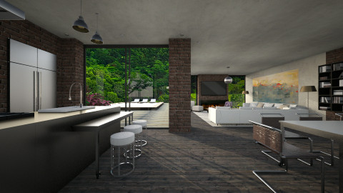 House - Kitchen  - by _Taz_