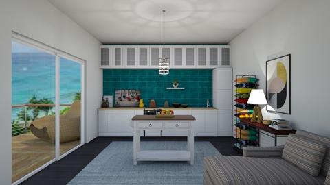 Modern Playful Kitchen - Kitchen - by thomanjenna