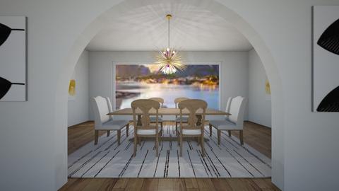 Scandinavian Dining Room - Dining room  - by mary_bresnahan