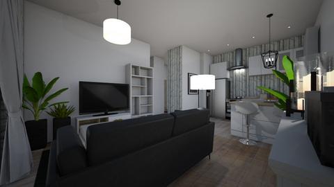 ciocia - Living room - by Zuzia2006