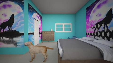 My room - Modern - Bedroom  - by horseloverforever
