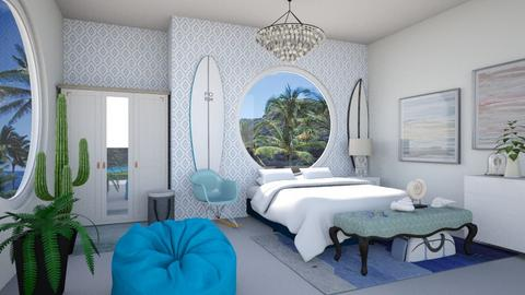 Surfer Bedroom - Bedroom  - by Chrispow0105